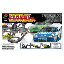 Nascar Sunday Thunder Tracks and Playset