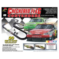 Nascar Checkered Flag Contenders Tracks and Playset
