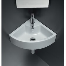 <strong>Bissonnet</strong> Area Boutique Ice Corner Ceramic Bathroom Sink