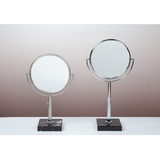 <strong>Bissonnet</strong> Kosmetic Astoria Mirror in Brushed Nickel
