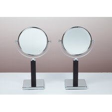 <strong>Bissonnet</strong> Kosmetic Elizabeth Mirror in Polished Chrome