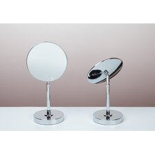 <strong>Bissonnet</strong> Kosmetic Fontana Mirror in Polished Chrome