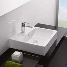 <strong>Bissonnet</strong> Universal Sweet Porcelain Bathroom Sink with Overflow