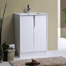"""Nava Gobi 23.2"""" Cabinet Vanity Set"""