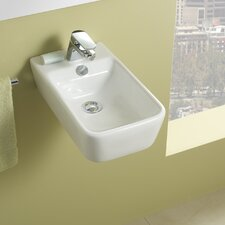 <strong>Bissonnet</strong> Emma Small Ceramic Bathroom Sink