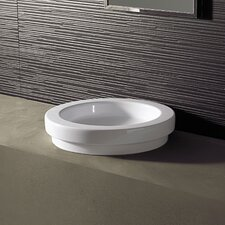 <strong>Bissonnet</strong> Area Boutique Logic 43 Ceramic Bathroom Sink