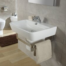 <strong>Bissonnet</strong> Emma Semi Pedestal Wall Hung Bathroom Sink