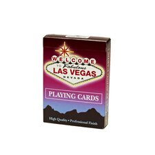 Welcome to Las Vegas Playing Card Deck - 12 Deck / Pack