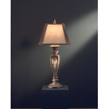 """40.5"""" H Table Lamp with Oval Shade"""