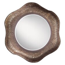 Mirror in Burnt Clay with Bronze Wash