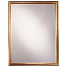 "33.5"" Rectangular Mirror in Castillian Gold"