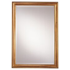 "39.5"" Rectangular Mirror in Castillian Gold"
