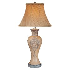 """33"""" H Table Lamp with Bell Shade"""