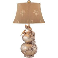 """30.5"""" H Table Lamp with Bell Shade"""