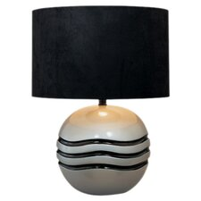 "Round Accent 21"" H Table Lamp with Drum Shade"