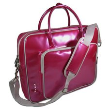 Shine Glossy Laptop Briefcase