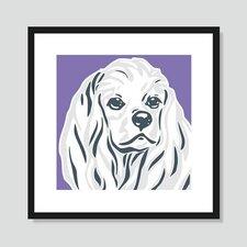 Cocker Spaniel Graphic Art