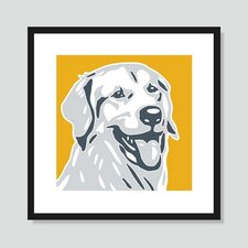 Golden Retriever Graphic Art