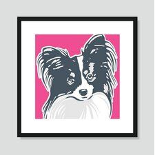 Papillon Graphic Art