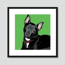 Black Chihuahua Graphic Art