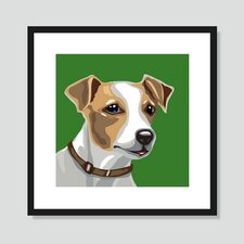 Jack Russell Terrier Graphic Art