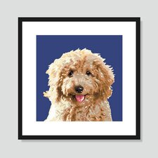 Labradoodle Graphic Art