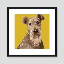Welsh Terrier Graphic Art