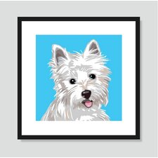 West Highland Terrier Graphic Art