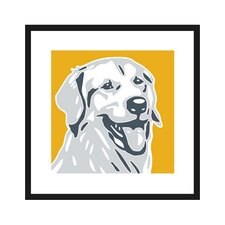 Golden Retriever Graphic Art