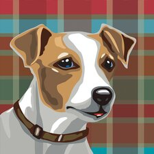 Pooch Décor Jack Russell Terrier Portrait Graphic Art on Canvas