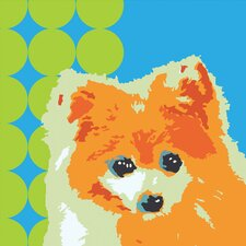 Pooch Décor Perfect Pomeranian Portrait Graphic Art on Canvas