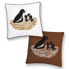 <strong>Naked Decor</strong> Animal Instinct Bird Reversible Pillow