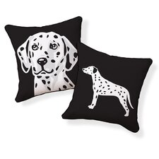<strong>Naked Decor</strong> Dalmatian Double Sided Cotton Pillow