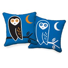 <strong>Naked Decor</strong> Owl Double Sided Cotton Pillow