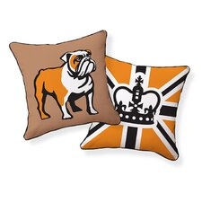 <strong>Naked Decor</strong> English Bulldog Pillow