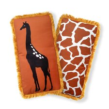 Beyond Africa Giraffe Pillow