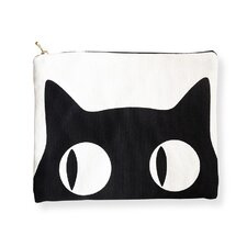 <strong>Naked Decor</strong> Big Eyes Cat  Amenity Bag