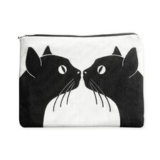 <strong>Naked Decor</strong> Kissing Cats Amenity Bag
