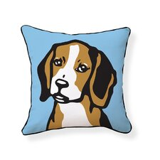 <strong>Naked Decor</strong> Beagle Pillow