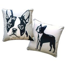 <strong>Naked Decor</strong> Pooch Décor Boston Terrier Portrait