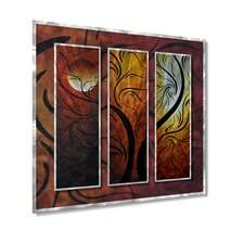 "<strong>All My Walls</strong> Mellow Moon by Megan Duncanson, Abstract Wall Art - 29"" x 31.5"""