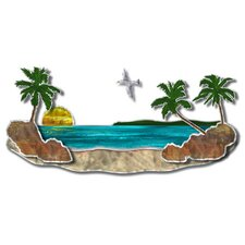 <strong>All My Walls</strong> Paradise Beach Contemporary Wall Décor