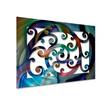 Vivid Vines Metal Wall Hanging