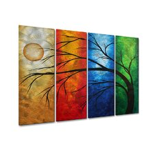 In Living Color Metal Wall Sculpture