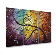 <strong>All My Walls</strong> Sweet Blossoms Metal Wall Art
