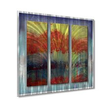 <strong>All My Walls</strong> River Runs Wild Metal Wall Decor