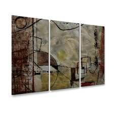 <strong>All My Walls</strong> Angular Momentum Metal Wall Art