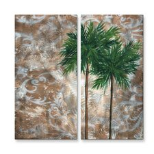 <strong>All My Walls</strong> Tropical Dance IV Metal Art