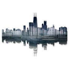 <strong>All My Walls</strong> Chicago Reflection II Wall Décor
