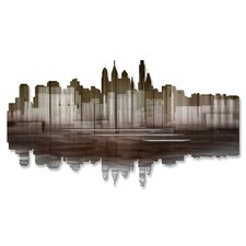 <strong>All My Walls</strong> Philadelphia Reflection II Wall Décor